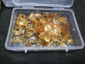 Citrine Tumbles [250 grams Box]