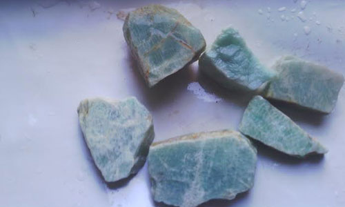 Natural Amazonite Rough